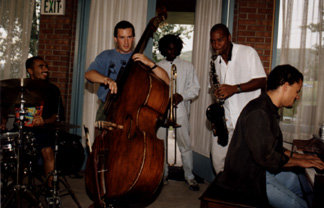jam session with Branford Marsalis